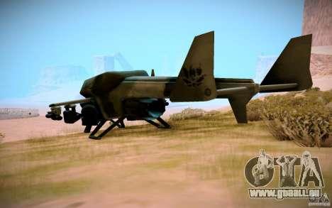 Type 4 Doragon pour GTA San Andreas laissé vue