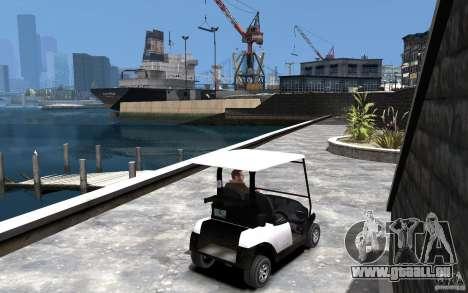 Caddy To IV pour GTA 4 est un droit