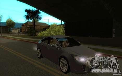Opel Insignia 2011 pour GTA San Andreas vue arrière