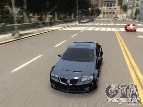 Pontiac G8 GXP pour GTA 4 est un côté