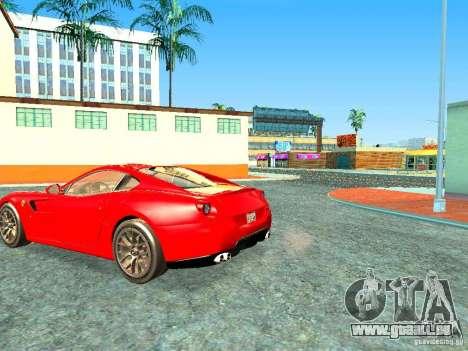 Ferrari 599 GTB pour GTA San Andreas laissé vue