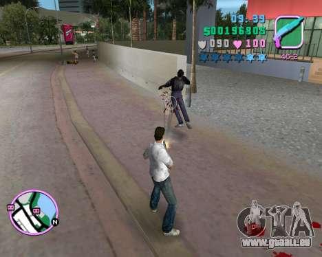 Chemise blanche pour GTA Vice City le sixième écran