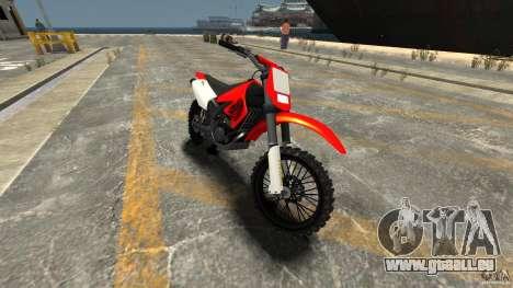 Aprilia RX50 für GTA 4 linke Ansicht