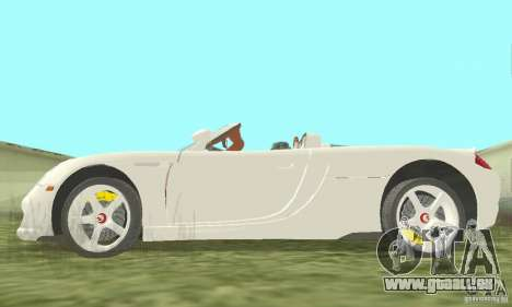 Porsche Carrera GT 2003 pour GTA San Andreas vue arrière