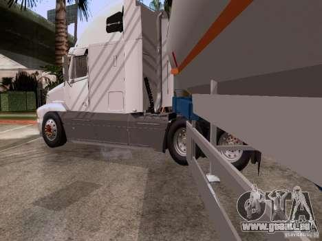 Freightliner Century pour GTA San Andreas sur la vue arrière gauche