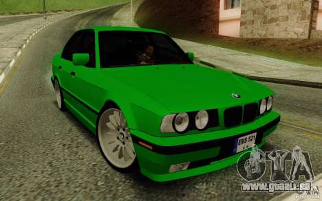 BMW E34 540i Tunable für GTA San Andreas