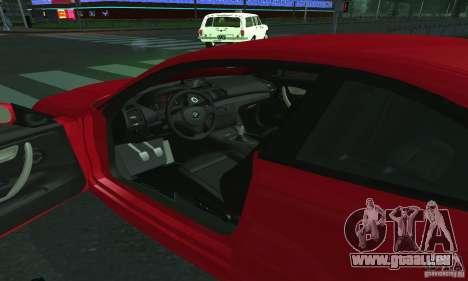 BMW 135i Coupé für GTA San Andreas rechten Ansicht