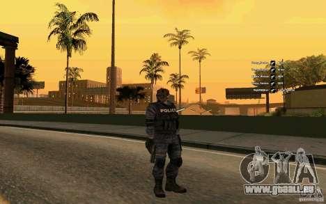 Peau SWAT pour GTA San Andreas