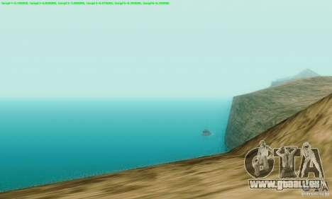 Marty McFly ENB 2.0 California Sun pour GTA San Andreas troisième écran