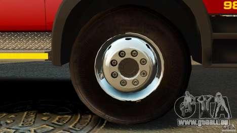 Mercedes-Benz Atego NMBMM [ELS] für GTA 4 Rückansicht