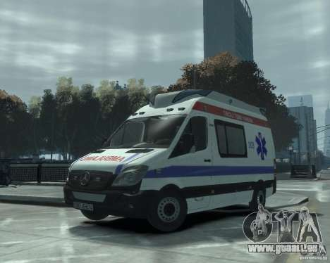 Mercedes-Benz Sprinter Azerbaijan Ambulance v0.1 für GTA 4