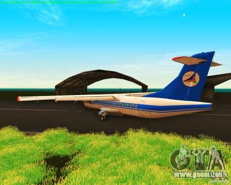 ATR 72-500 Azerbaijan Airlines für GTA San Andreas rechten Ansicht