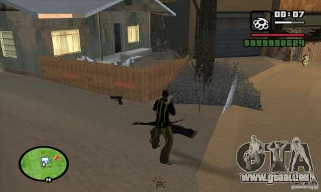 Monster energy suit pack für GTA San Andreas dritten Screenshot