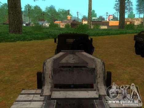 Oural-4420 tracteur pour GTA San Andreas vue de côté
