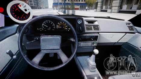 Toyota AE86 TRUENO Initial D pour GTA 4 est un droit