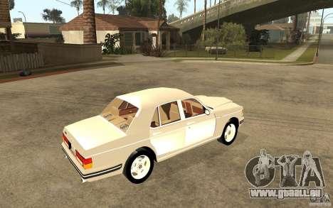Bentley Turbo RT pour GTA San Andreas vue de droite