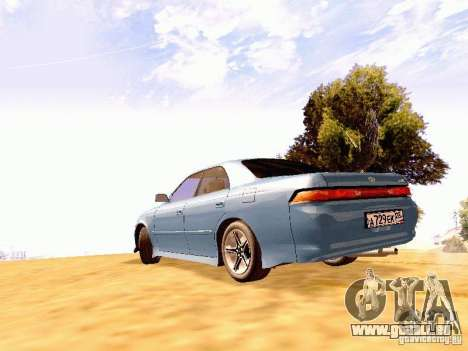Toyota Mark II JZX90 pour GTA San Andreas laissé vue