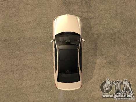 Mercedes-Bens e63 AMG für GTA San Andreas rechten Ansicht
