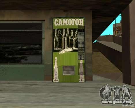 Machine avec de la vodka pour GTA San Andreas