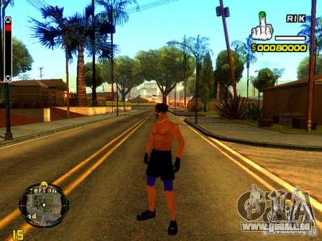 Strand Menschen für GTA San Andreas zweiten Screenshot