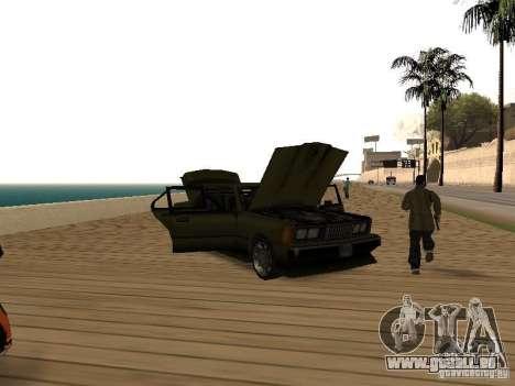 Sentinel XS für GTA San Andreas Rückansicht