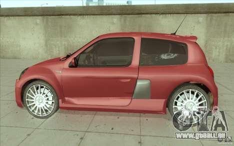 Renault Clio V6 pour GTA San Andreas laissé vue