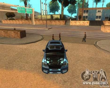 BMW Motorsport X6 M v. 2.0 pour GTA San Andreas sur la vue arrière gauche