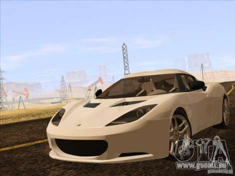 Lotus Evora für GTA San Andreas