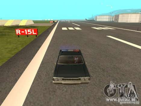 Police Savanna pour GTA San Andreas vue de droite