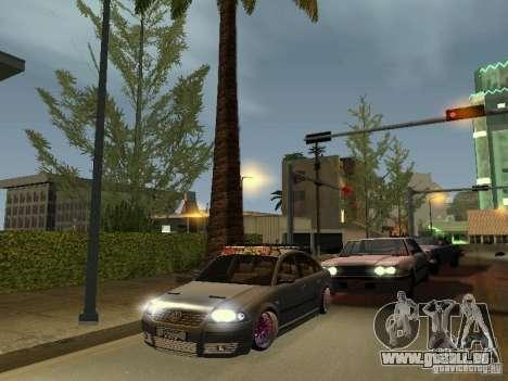 VW Passat B5 Dope pour GTA San Andreas vue arrière