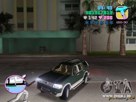 Ford Explorer pour GTA Vice City