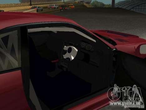 Nissan Skyline GT-R BCNR 33 pour GTA San Andreas vue arrière