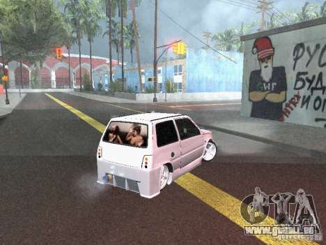 VAZ 1111 pour GTA San Andreas laissé vue
