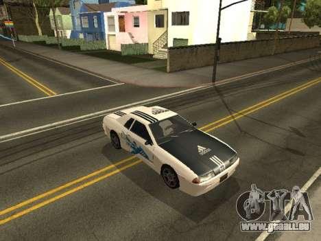 Vinyle pour Elegy pour GTA San Andreas troisième écran