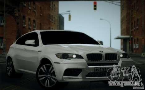 BMW X6M E71 pour GTA San Andreas vue de côté
