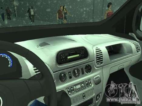 Vauxhall Vivaro v0.1 pour GTA San Andreas vue de côté