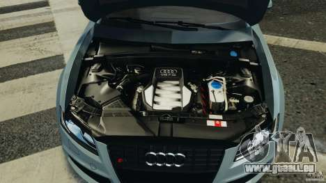 Audi S5 v1.0 pour GTA 4 est une vue de dessous