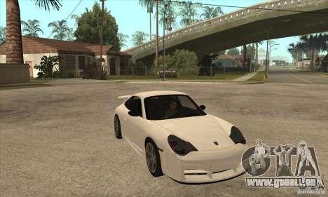 Porsche 911 GT3 (996) pour GTA San Andreas vue arrière