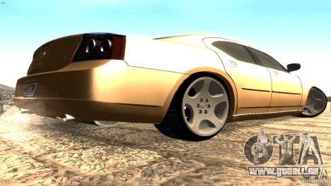 Dodge Charger SRT8 Re-Upload pour GTA San Andreas vue de droite
