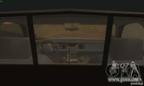 Ford Crown Victoria Colorado Police für GTA San Andreas zurück linke Ansicht