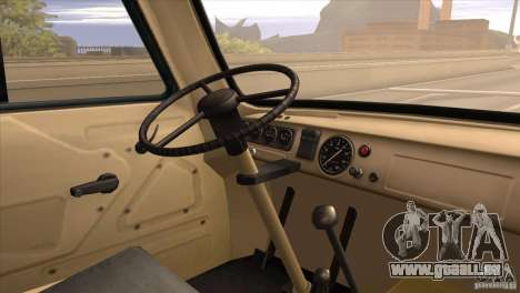 UAZ 450 für GTA San Andreas Rückansicht
