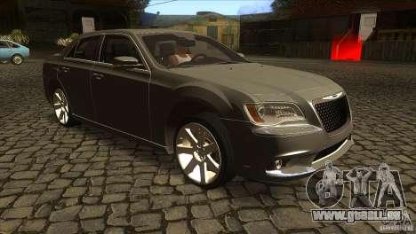 Chrysler 300 SRT-8 2011 V1.0 für GTA San Andreas Rückansicht