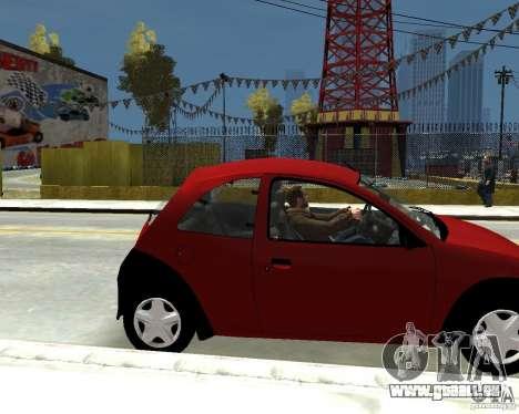 Ford Ka 1999 pour GTA 4 est un droit