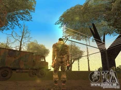 Degtyarev de Stalker pour GTA San Andreas deuxième écran