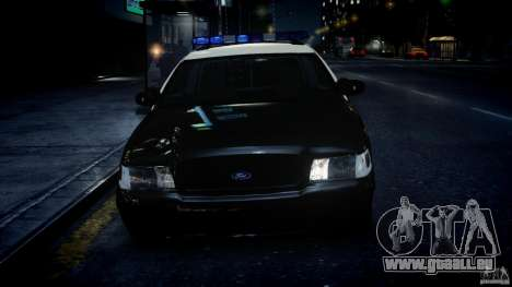 Ford Crown Victoria Fl Highway Patrol Units ELS pour GTA 4