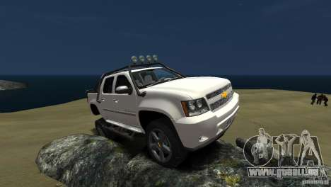 Chevrolet Avalanche 4x4 Truck pour GTA 4