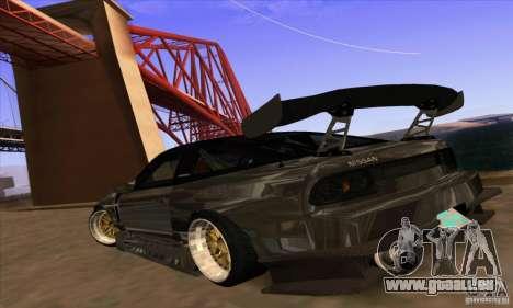 Nissan 180SX Gkon - Drift chrome für GTA San Andreas linke Ansicht