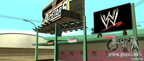 Neue WWE-shop für GTA San Andreas her Screenshot