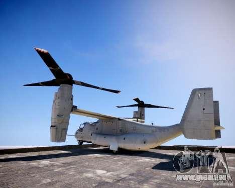 Osprey MV-22 für GTA 4 linke Ansicht