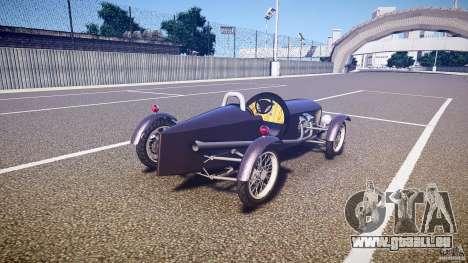 Vintage race car für GTA 4 Seitenansicht